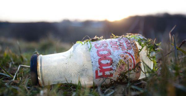 plast nedbrytning i naturen